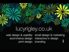 Lucy Rigley business cards
